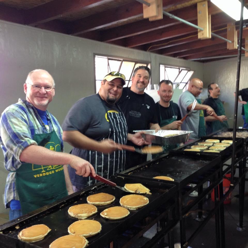 dads club pancake breakfast