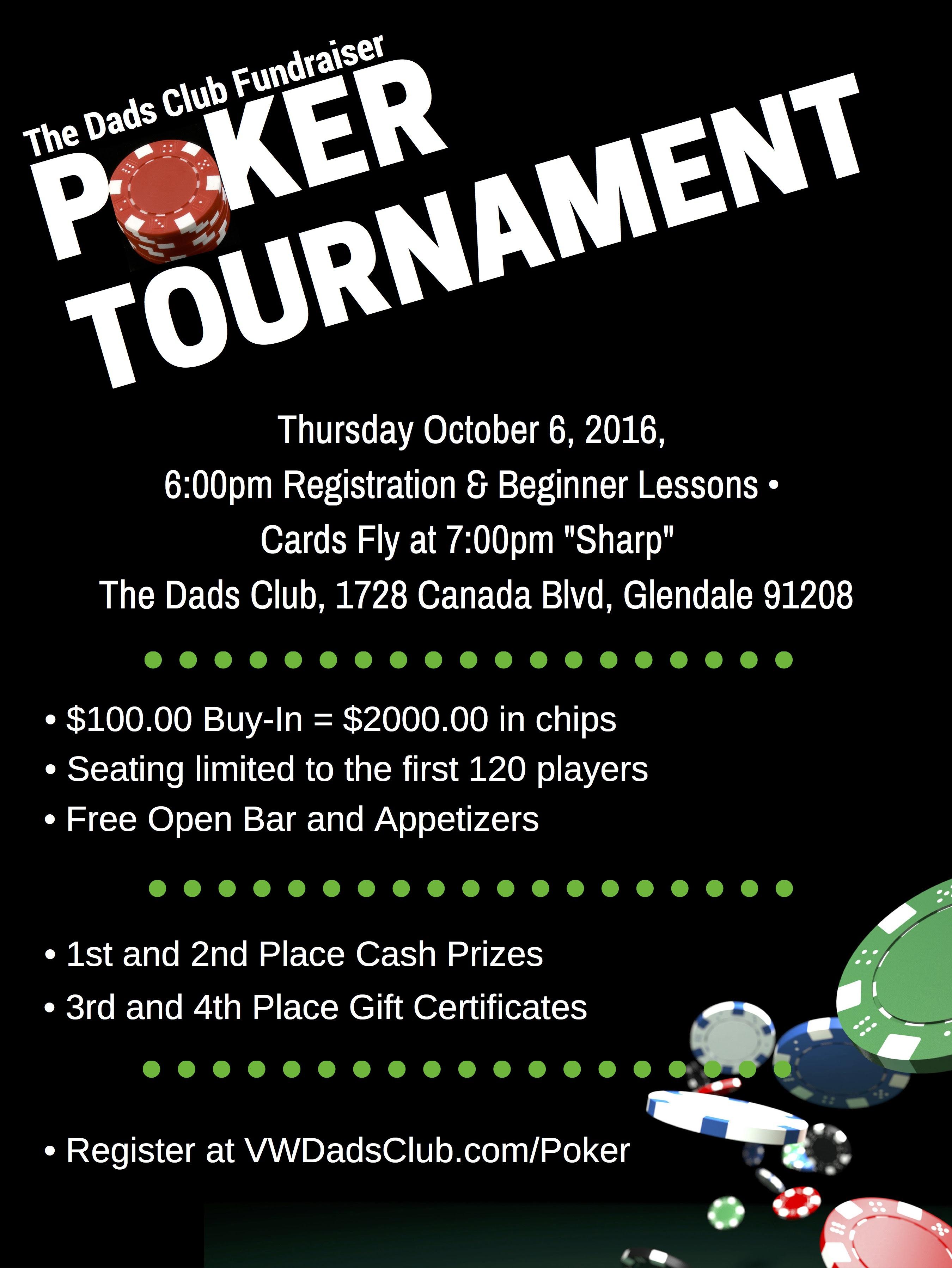 Poker fundraiser circus casino carnac